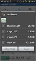 Screenshot of Easy Unrar Unzip & zip (noads)