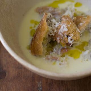 Richard Olney's Garlic Soup.