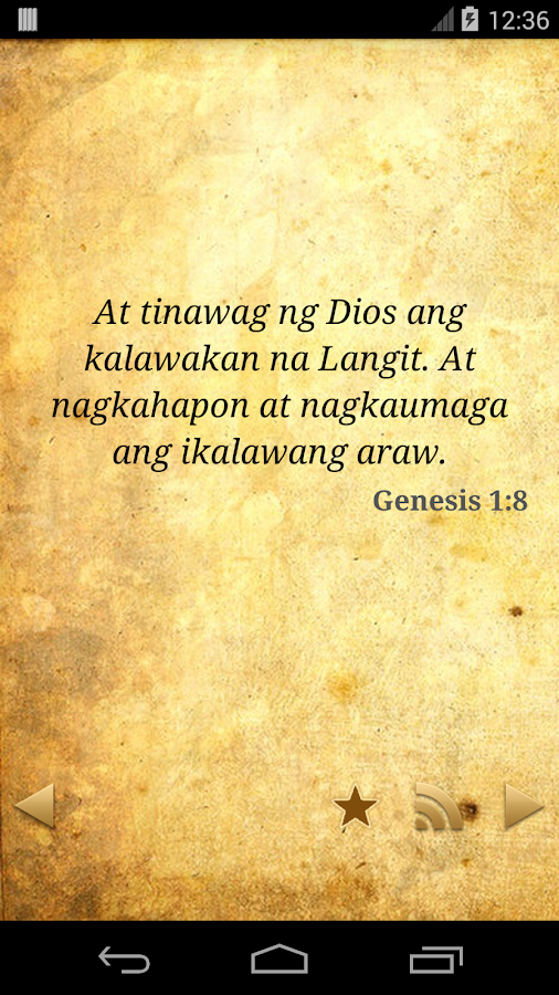 Daily Bible Tagalog - screenshot