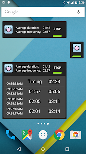 Contraction Timer Screenshot 8