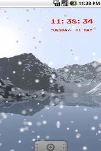 冬季山LiveWallpaper