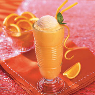 Orange Float.