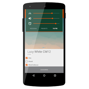 Lazy WHITE CM12 THEME v1.5