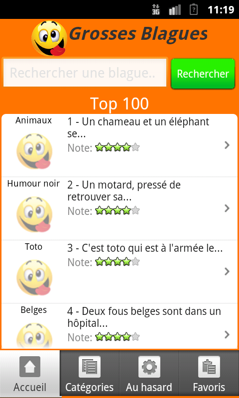 Grosses Blagues (3800) - screenshot