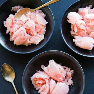 Ruby Grapefruit Sorbet