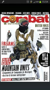 Combat & Survival Magazine- screenshot thumbnail