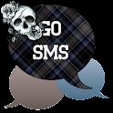 GO SMS - Rose Skulls 5 icon