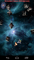 Screenshot of Asteroid War Free