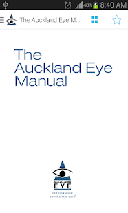 The Auckland Eye Manual- screenshot thumbnail