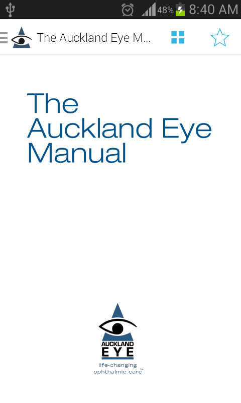 The Auckland Eye Manual- screenshot