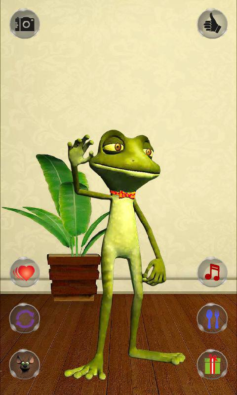 Talking Frog- screenshot