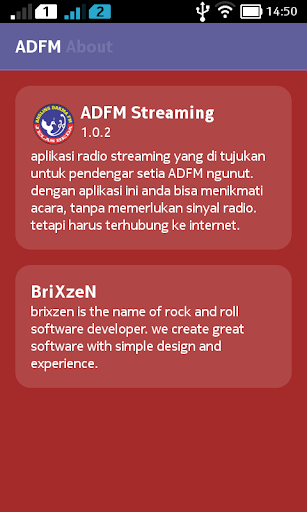 ADFM Streaming Tulungagung