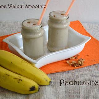 Oats Banana Smoothie.