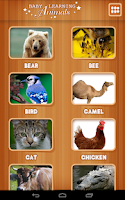 Screenshot of Baby learning Animals (Card)