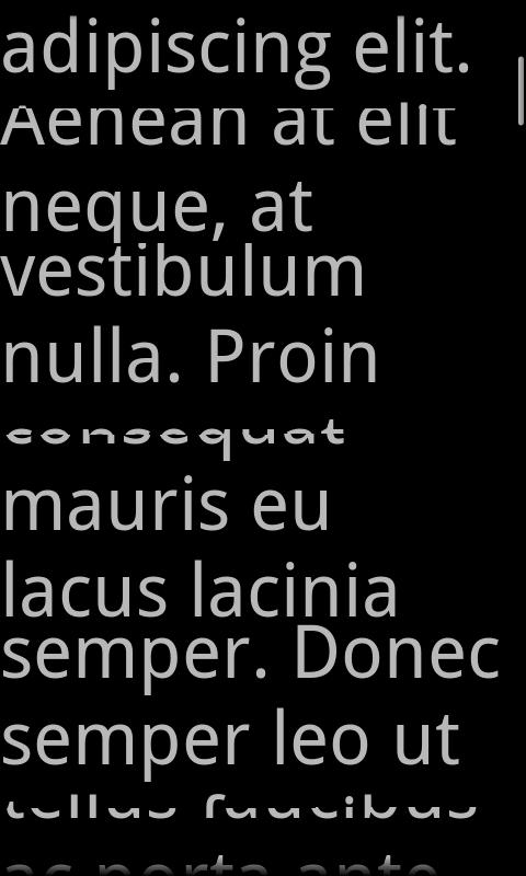 A Prompter for Android- screenshot