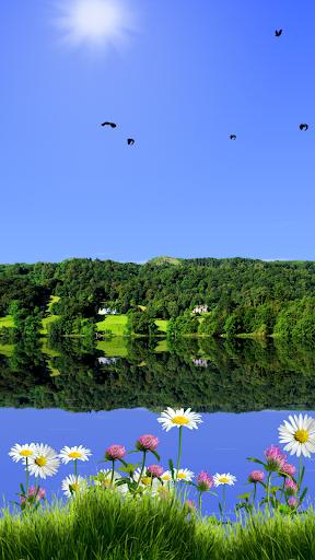 Summer Lake Live Wallpaper