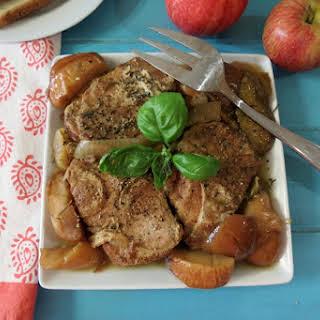 Apples and Pork Loin – Crockpot.