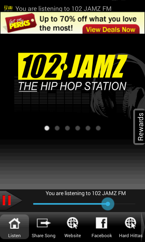 102 JAMZ FM - screenshot