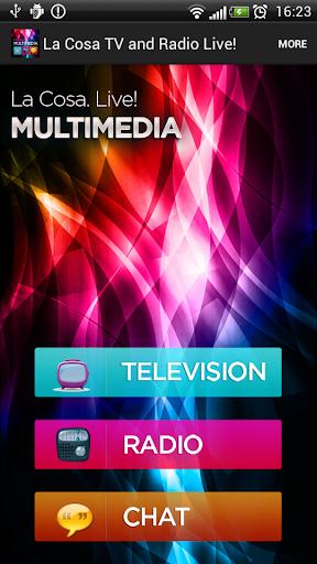 La Cosa Tv and Radio Live