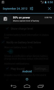 Battery Tweet- screenshot thumbnail