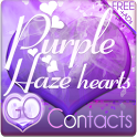 Purple Haze GO Contacts Theme icon