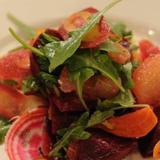 Lightly Smoked Beet Salad