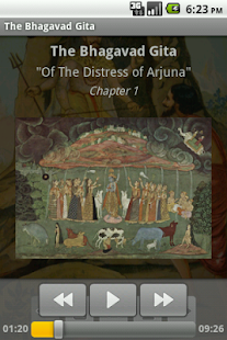 The Bhagavad Gita – AudioEbook - screenshot thumbnail