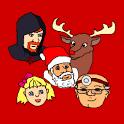 Santa Delivery icon