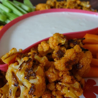 Cauliflower Hot Wings.