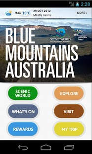 Blue Mountains Australia- screenshot thumbnail
