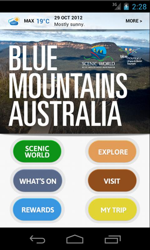 Blue Mountains Australia- screenshot