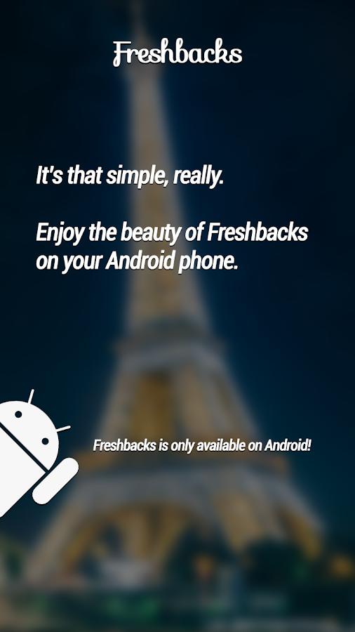 Freshbacks - Daily Wallpapers - screenshot