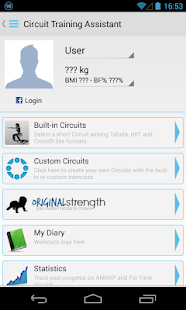Circuit Training Assistant- screenshot thumbnail
