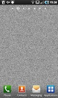 Screenshot of LiveNoise - old tv white noise