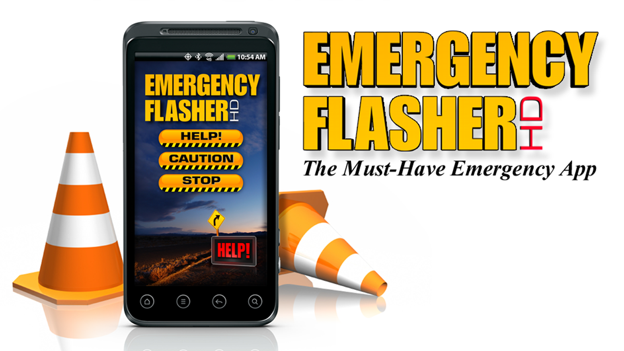 EMERGENCY FLASHER HD - screenshot