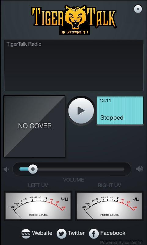 TigerTalk Radio Player- screenshot