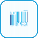 Blue Barcode go launcher theme icon