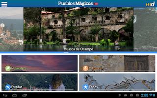Screenshot of Pueblos Mágicos