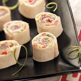 Pretty Ham Pinwheels