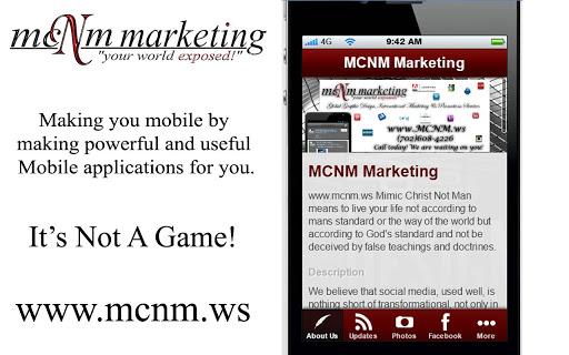 MCNM Mobile App