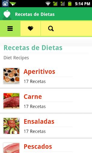 Recetas de Dietas