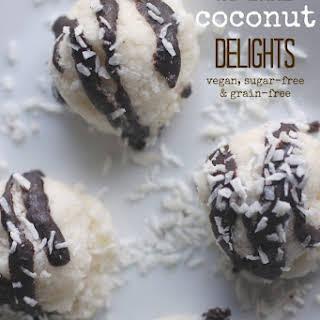 No Bake Coconut Delights.