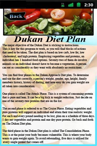 Dukan Diet Plan