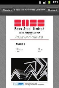 Boss Steel Reference Guide- screenshot thumbnail