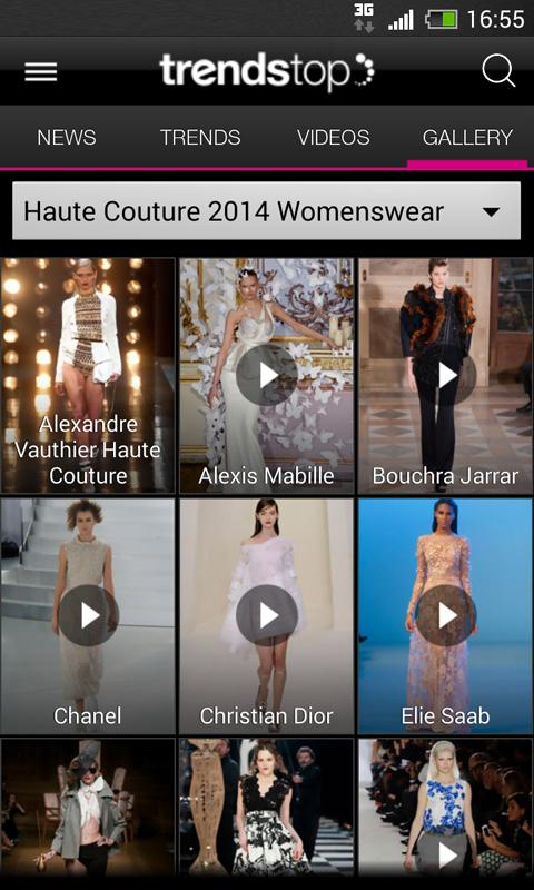 Trendstop Fashion TrendTracker - screenshot