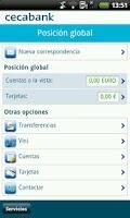Screenshot of Cecabank