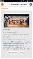 Screenshot of My Airport–Aeroports de Paris