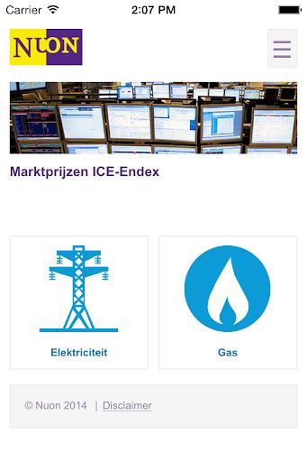 Energieprijzen Nuon Zakelijk