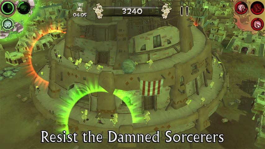 Babel Rising 3D! - screenshot