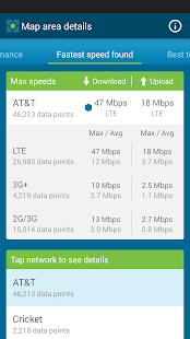 Cell Phone Coverage Map - screenshot thumbnail